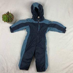 REI Childs Snowsuit Sz 18M Toddler Hooded Blue